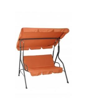 Κούνια Τριθέσια Πορτοκαλί