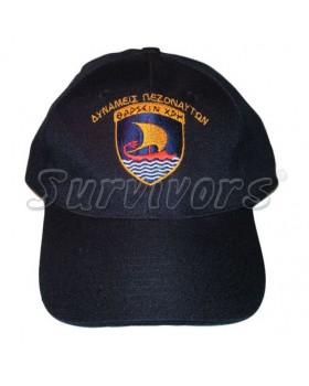 Καπέλα με κέντημα στρατιωτικά