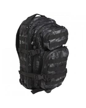 Mil-Tec-Σάκος Πλάτης Assault SM Tactical 20 Λίτρων - Παραλλαγής Mandra Night