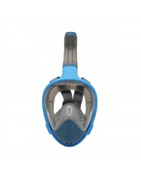 NEOpine Full Face Μάσκα Snorkeling F-1 L/XL (Μπλε)