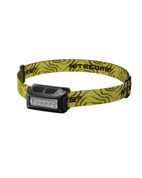 Φακός Κεφαλής Led Nitecore NU10 Black+Yellow Headband