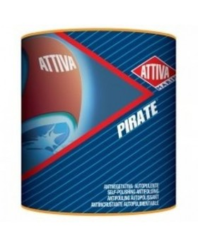Attiva Boero-Υφαλόχρωμα Pirate Αυτοκαθαριζόμενο 750ml