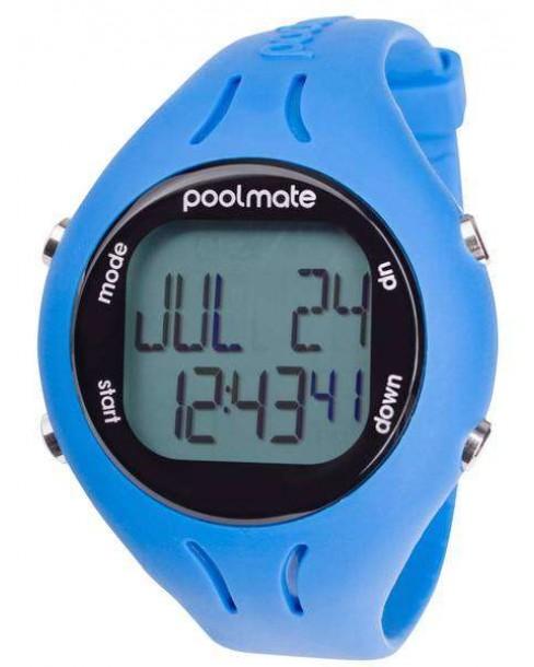 Ρολόι Swimovate Poolmate2 Blue Rubber Strap