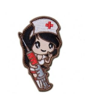 Mil-Spec Monkey Διακριτικό Κεντημένο Σήμα Nurse Girl