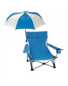 Καρεκλάκι Παραλίας Χαμηλό Brunner Sunshade Sombrella