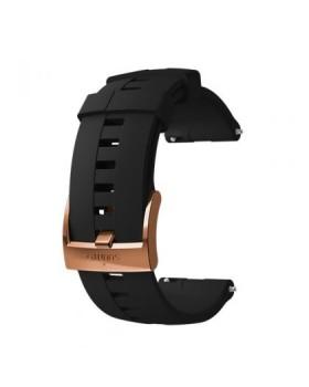 Suunto 24mm Athletic 4 Silicone Strap Black/Copper M