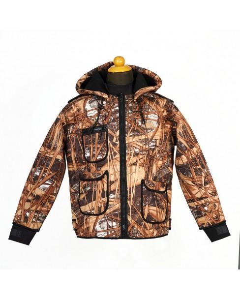 Neopren Jacket Camo 5mm Παραλλαγή Καλαμιού