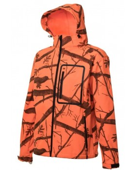 Τζάκετ Αδιάβροχο Soft Shell Toxotis 1007C Camo Orange