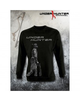 Unisex T-Shirt Uh 040 B&W Hunder