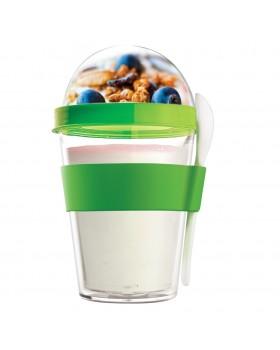 Φαγητοδοχείο YO2GO Yogurt 360ML Green