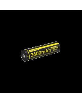 ΜΠΑΤΑΡΙΑ NITECORE 18650 / 2600mAh/Micro USB