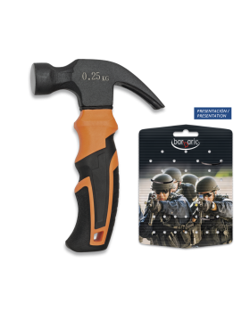 Σφυρί κοντό ALBAINOX, Mini-hammer Black/orange 16 cm