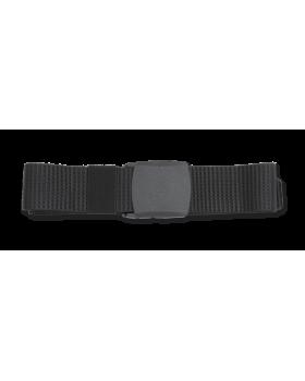 Ζώνη επιχειρησιακή 135cm x 3.9cm, μαύρη