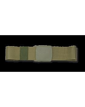 Ζώνη επιχειρησιακή 135cm x 3.9cm, πράσινη