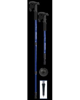 Μπαστούνι ορειβασίας, πτυσσόμενο, μπλε