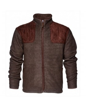 Ζακέτα Fleece SEELAND William II Brown