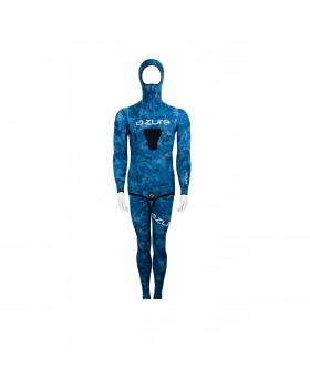 Azure-Nylon Cell 3mm Camo Blue